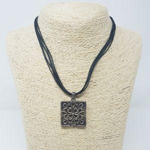 Vtg 1980's Barse .925 sterling silver necklace